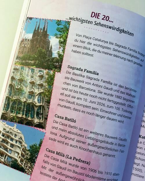 Travellette Reiseführer Barcelona Innen