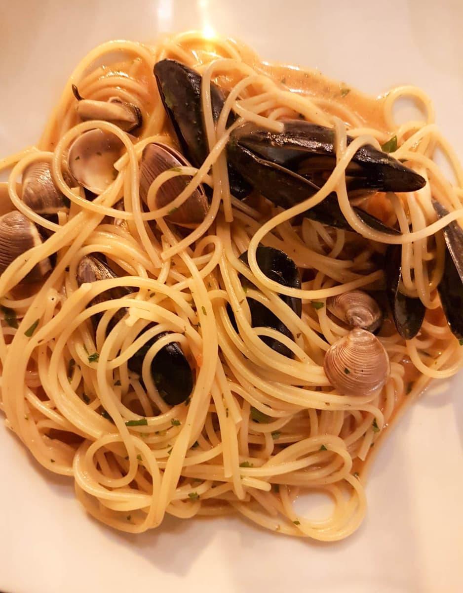 Spaghetti Vongole, Rom