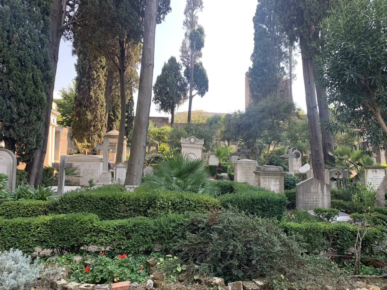 Cimitero Acattolico, Rom