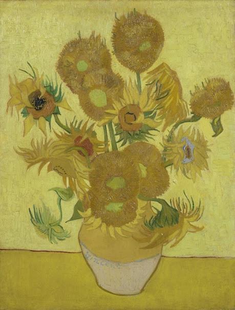 Vincent van Gogh: Sonnenblumen, Arles, Januar 1889, Öl auf Leinwand, 95 cm x 73 cm © Van Gogh Museum, Amsterdam (Vincent van Gogh Foundation)