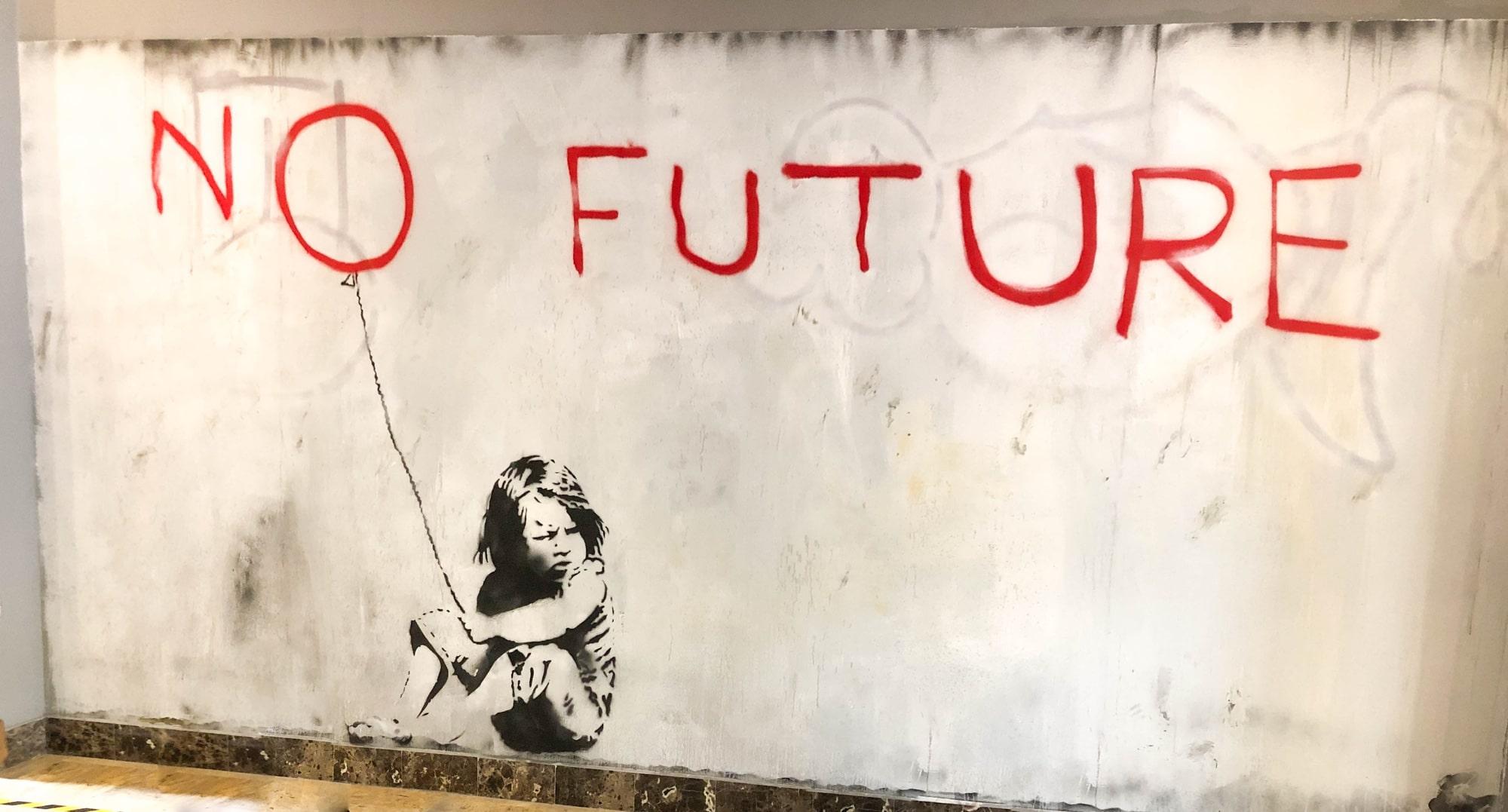 Banksy Ausstellung Barcelona