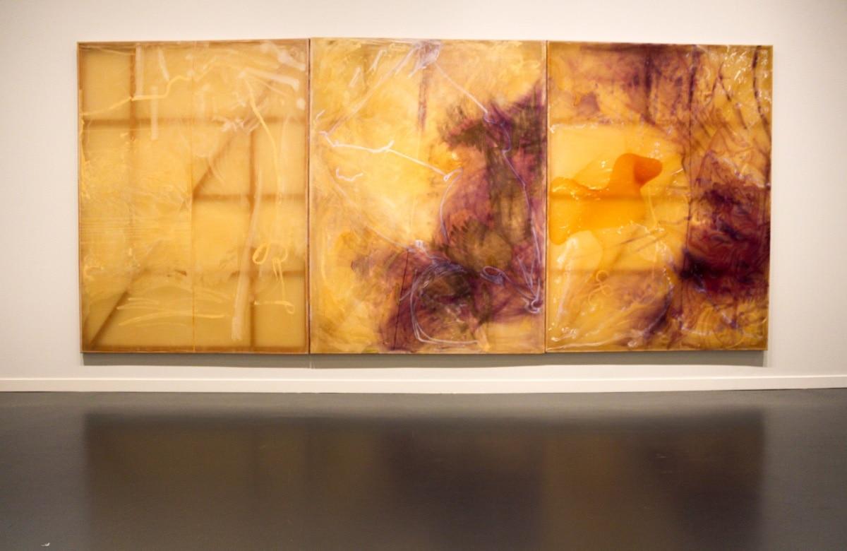 Sigmar Polke, Triptychon, 1989, Caixa Forum, Barcelona