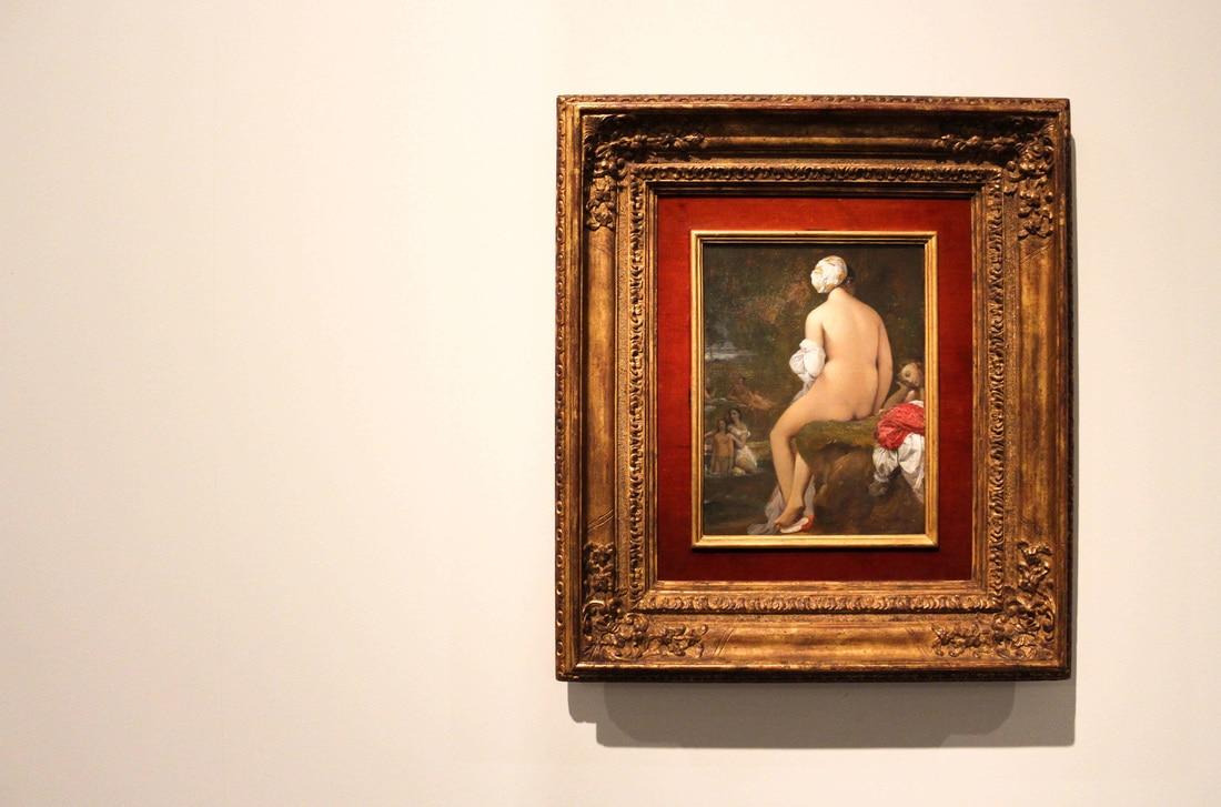 Jean-Auguste-Dominique Ingres, Die kleine Badende, 1826, Caixa Forum, Barcelona