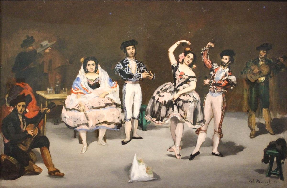 Édouard Manet, Das spanische Ballet, 1862, Caixa Forum, Barcelona