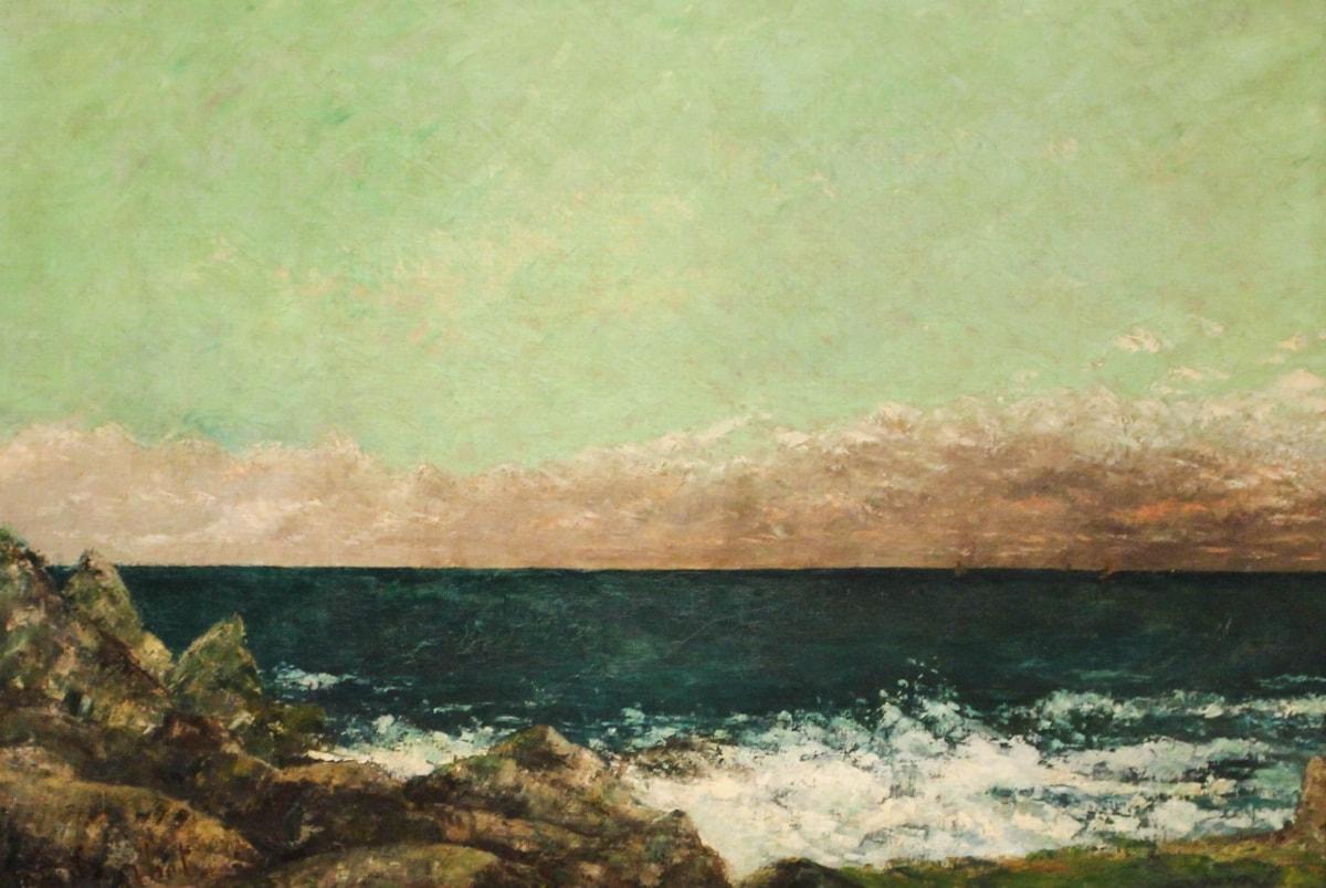 Gustave Courbet, Das Mittelmeer, 1857, Caixa Forum, Barcelona