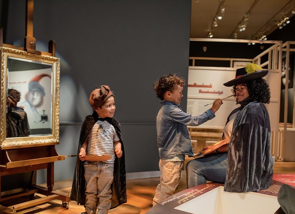 Hallo Rembrandt, © Het Rembrandthuis