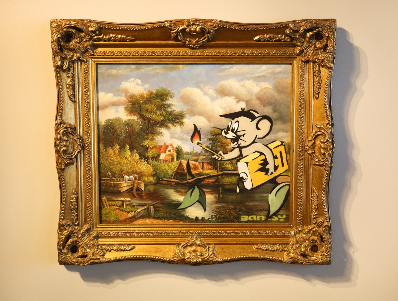 Banksy: Rohöl-Jerry, Moco Museum, Amsterdam