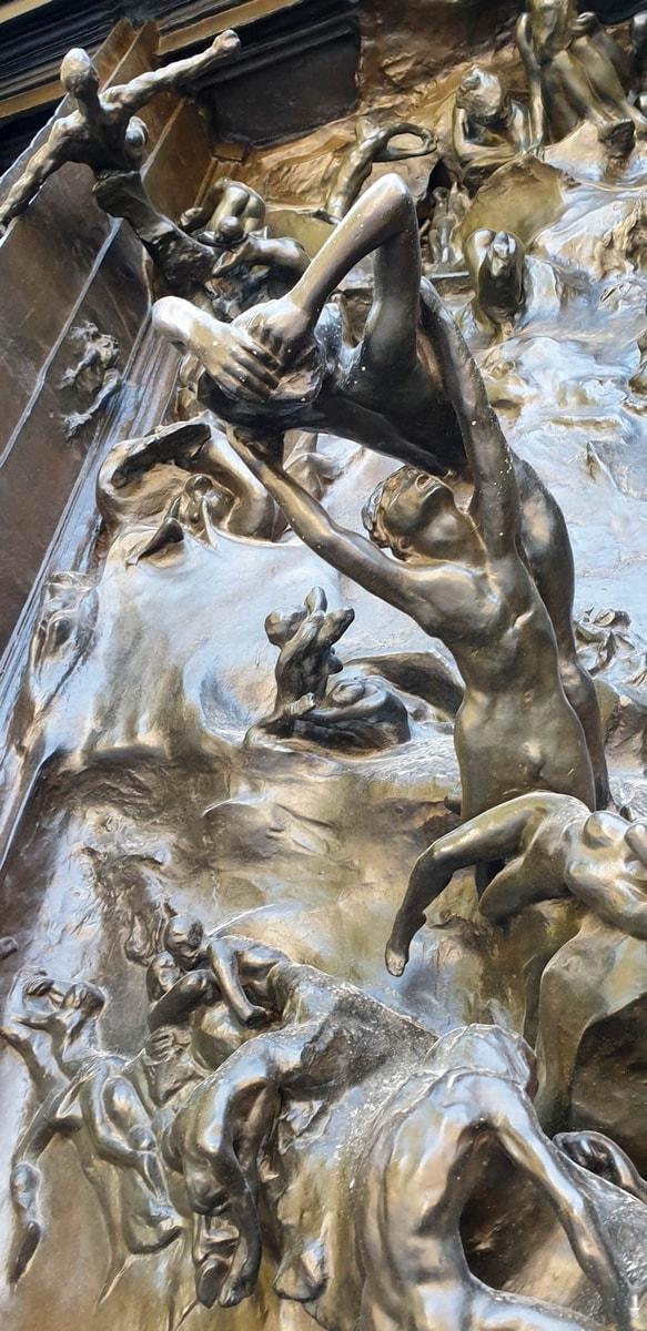 Auguste Rodin: Das Höllentor, Musée Rodin, Paris