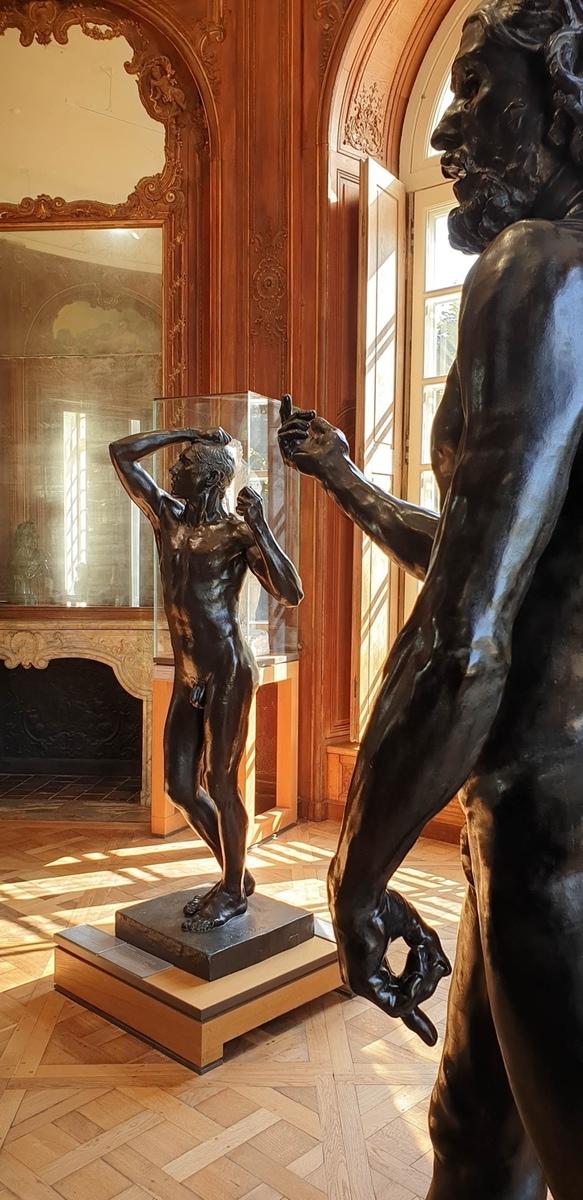 Auguste Rodin: Das Eherne Zeitalter, Musée Rodin, Paris