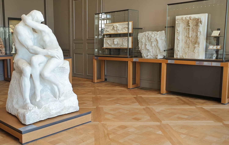 Auguste Rodin: Der Kuss, Musée Rodin, Paris