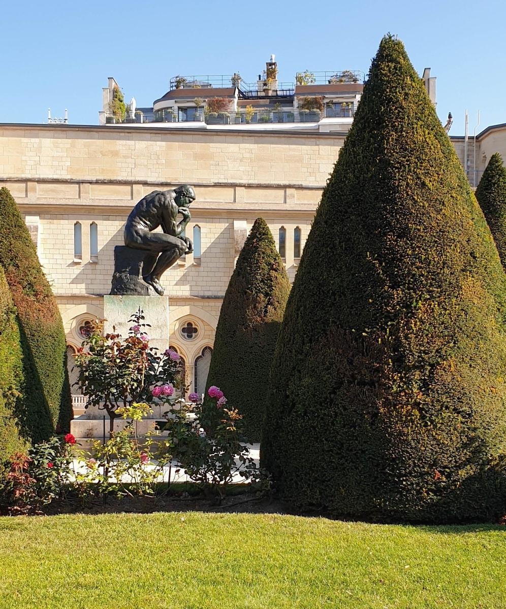 """""""Der Denker"""" im Garten des Musée Rodin, Paris"""