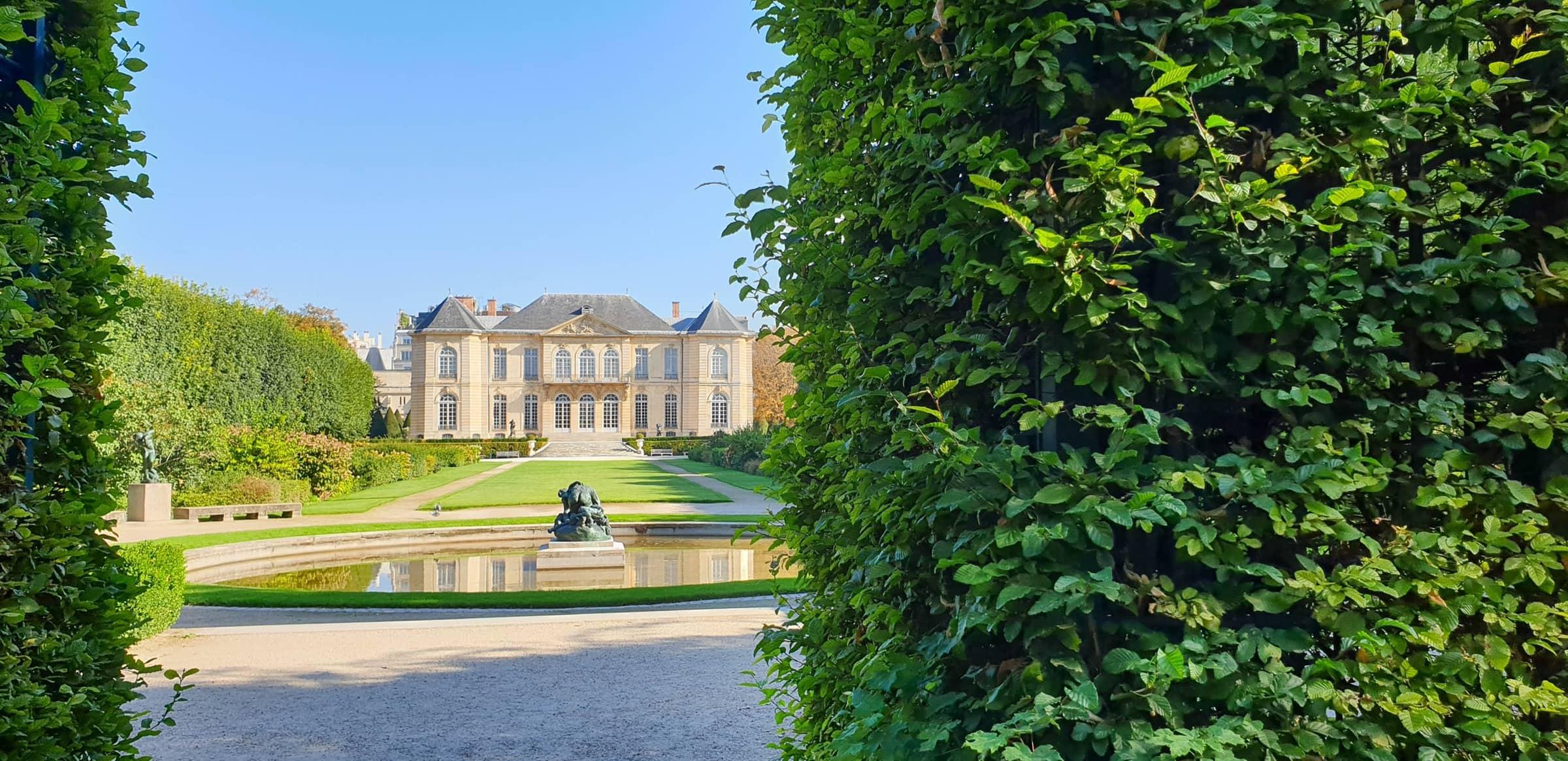 Garten des Musée Rodin, Paris