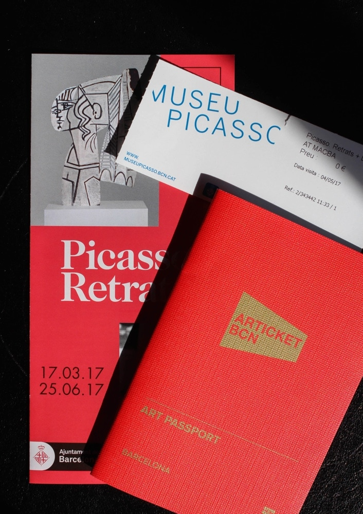 Articket, Picasso Museum, Barcelona