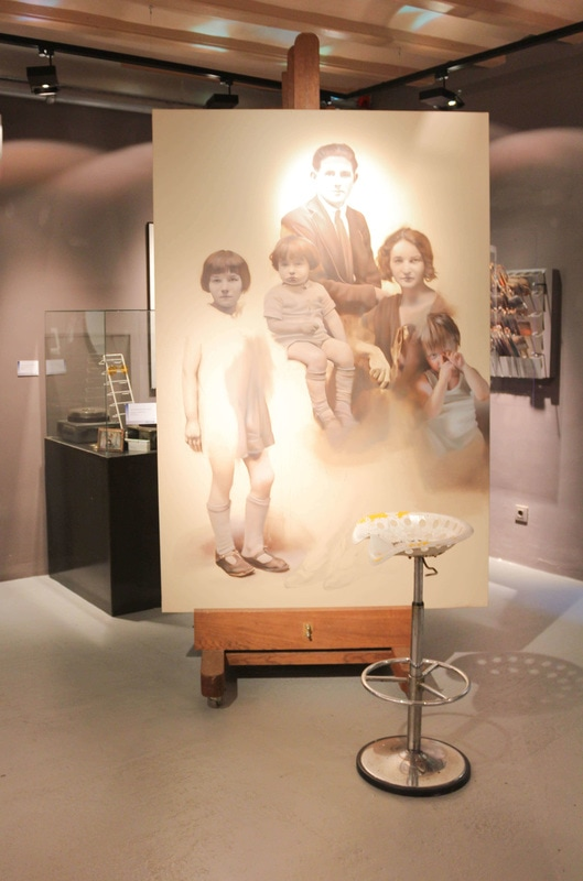 István Sándorfi: Obra póstuma (inacabada) / Postumes Werk (Unvollendet) (2007), 175x75 cm, MEAM, Barcelona