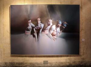 István Sándorfi: Les éclaireurs / Die Aufklärer (1982), MEAM, Barcelona 195x270 cm