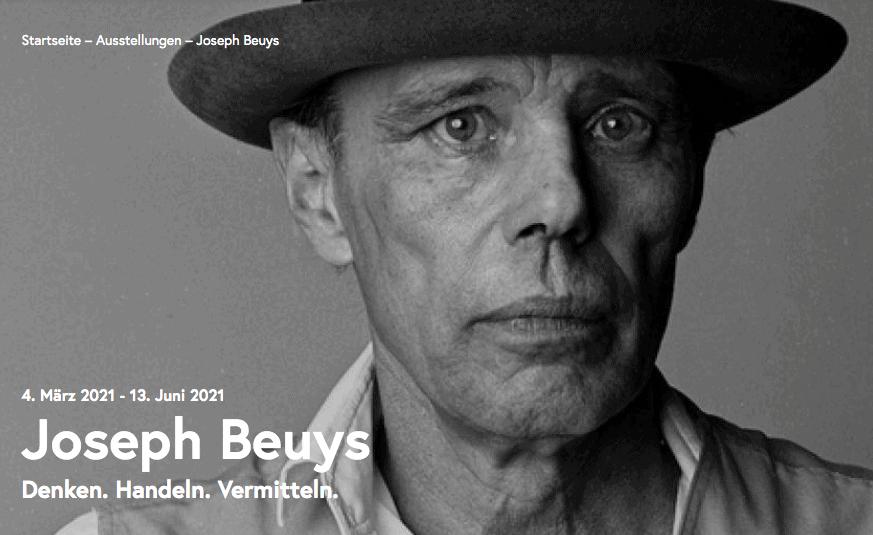 Ausstellung Beuys Belvedere 21 Wien
