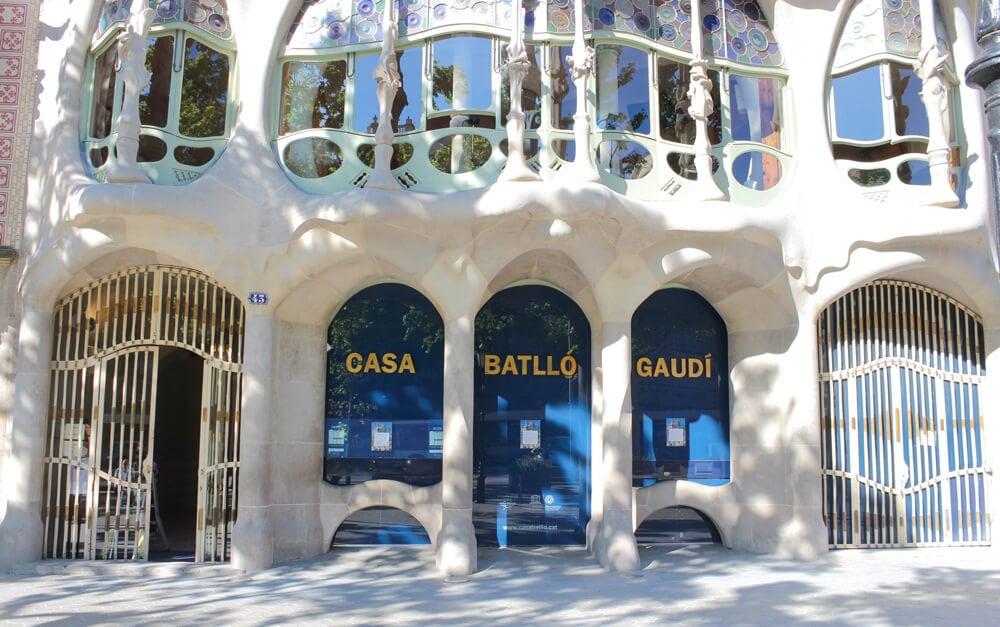 Casa Batllo, Barcelona während Corona 2020